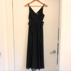 BCBGeneration black evening gown